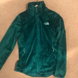 North face green jacket